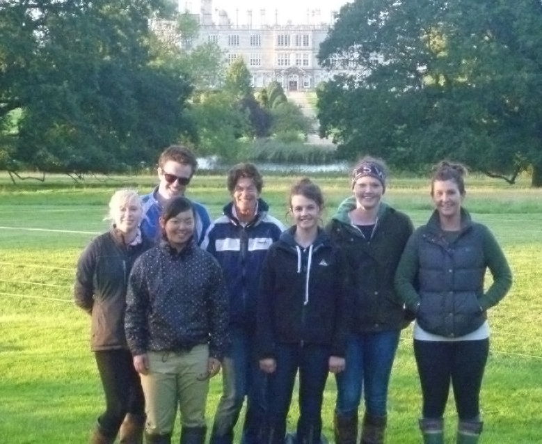 The team at Burghley